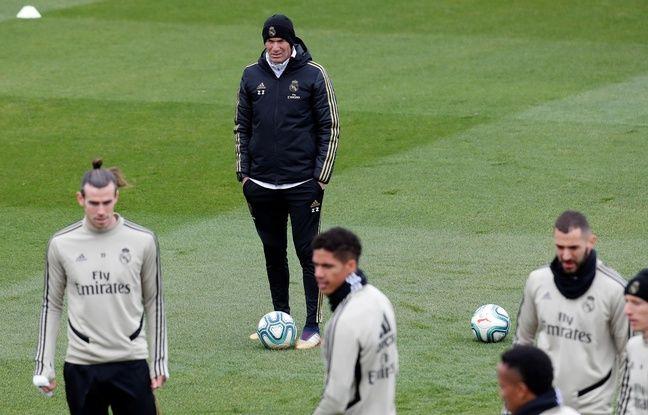 Real Madrid-Barça: Le Clasico est «une grande opportunité de changer les choses», estime Zidane