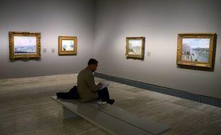Une exposition consacrée à Pissarro à Madrid en 2013.