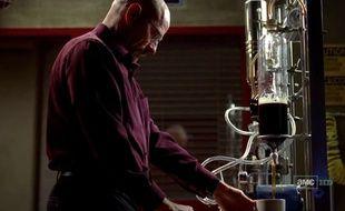 Walter White a inventé la cafetière ultime dans la série Breakin Bad