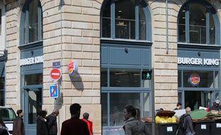 Burger King finalise son implantation à Bordeaux, le 23 mars 2016