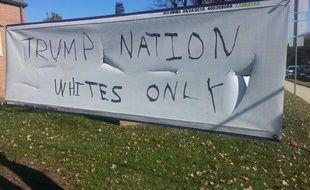 Une église de Silver Springs, dans le Maryland, a été maculée d'inscriptions racistes.