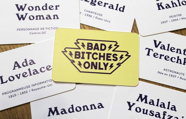 Le jeu « Bad bitches only »