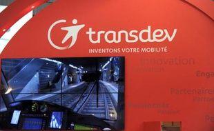 Logo de l'opérateur français de transports Transdev