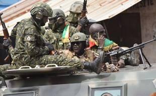 Les putschistes ont capturé le président