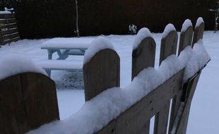 D'importantes quantités de neige sont tombées dans cette région du pays en quelques jours. (Illustration)