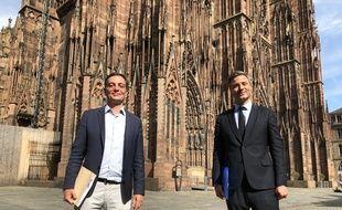 Alain Fontanel (LREM) et Jean-Philippe Vetter (LR) Unis pour Strasbourg