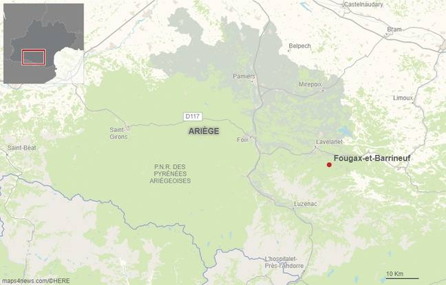 La commune de Fougax et Barrineuf en Ariège. (Illustration)
