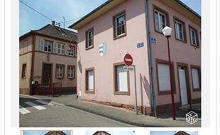 Alsace La Mairie Et L école De Niedermodern à Vendre Sur Le