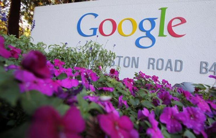 Le siège du géant de l'Internet Google, à Mountain view en Californie.