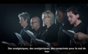 Capture d'écran de la vidéo du UNHCR