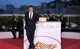 Antonio Banderas, le 25 mai 2019 à Cannes.