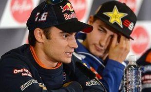 L'Espagnol Dani Pedrosa et l'Australien Casey Stoner, coéquipiers chez Honda, auront une bonne raison de remporter dimanche le Grand Prix d'Australie en MotoGP, avant-dernière manche de la saison, disputée sur le circuit de Phillip Island, au sud de Melbourne.