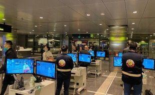 L'aéroport international de Doha, le 24 janvier 2020 au Qatar.