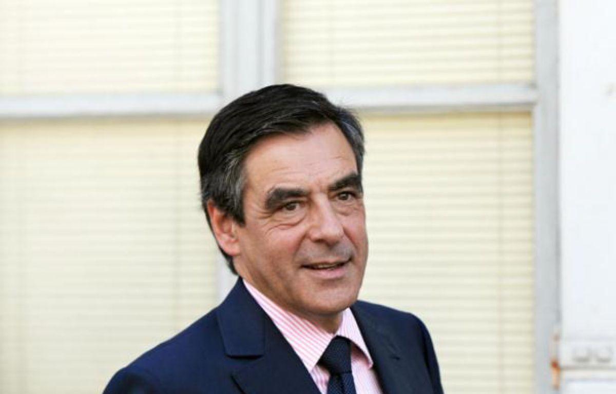François Fillon, le 9 juillet 2012 à Orléans, pour la première étape de sa tournée des fédérations. – A. JOCARD / AFP