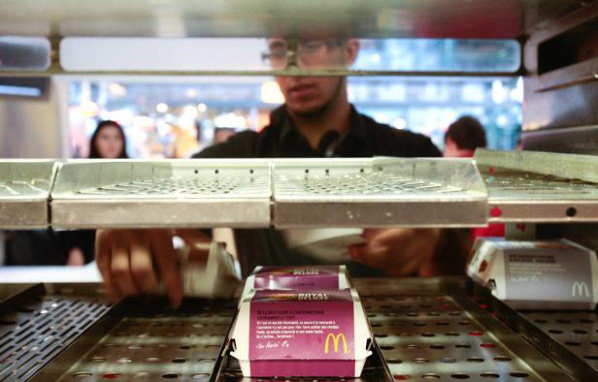 Un restaurant McDonald's à Marseille, le 10 août 2010. – MAGNIEN/20 MINUTES
