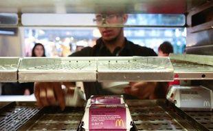 Un restaurant McDonald's à Marseille, le 10 août 2010.