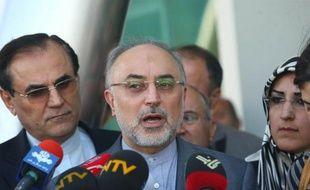 """Le ministre iranien des Affaires étrangères Ali Akbar Salehi a demandé mardi la """"coopération"""" du secrétaire général de l'ONU Ban Ki-moon pour obtenir la libération des otages iraniens enlevés en Syrie et en Libye."""