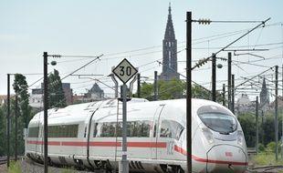 Strasbourg est désormais relié à Paris en moins de deux heures en LGV, mais le train est loin d'être aussi rapide pour rejoindre Lyon. Illustration