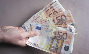 Des billets de banque (illustration).
