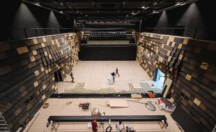 La salle de concert du nouvel Antipode offre une capacité d'environ 900 places. Un format qui manquait à Rennes.