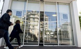Image d'illustration de l'entrée de l'Insee, à Montrouge.