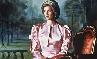 Portrait officiel de Lady Diana, princesse de Galles, en 1987