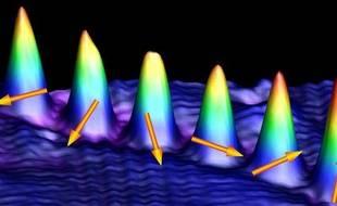 Observation du spin quantique d'atomes de cobalt via un microscope à effet tunnel