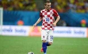 Luka Modric lors du match Croatie-Cameroun, le 18 juin 2014.