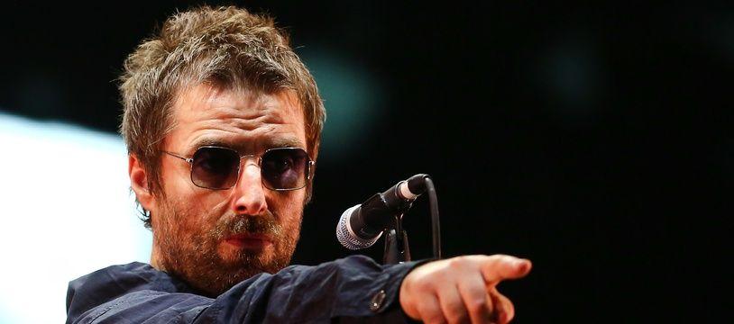 Le chanteur Liam Gallagher