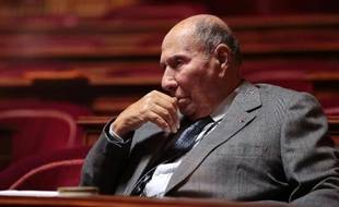 Serge Dassault au Sénat le 20 decembre 2012 à Paris