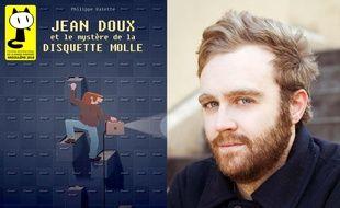 Philippe Valette et son album Jean Doux et le mystère de la disquette molle