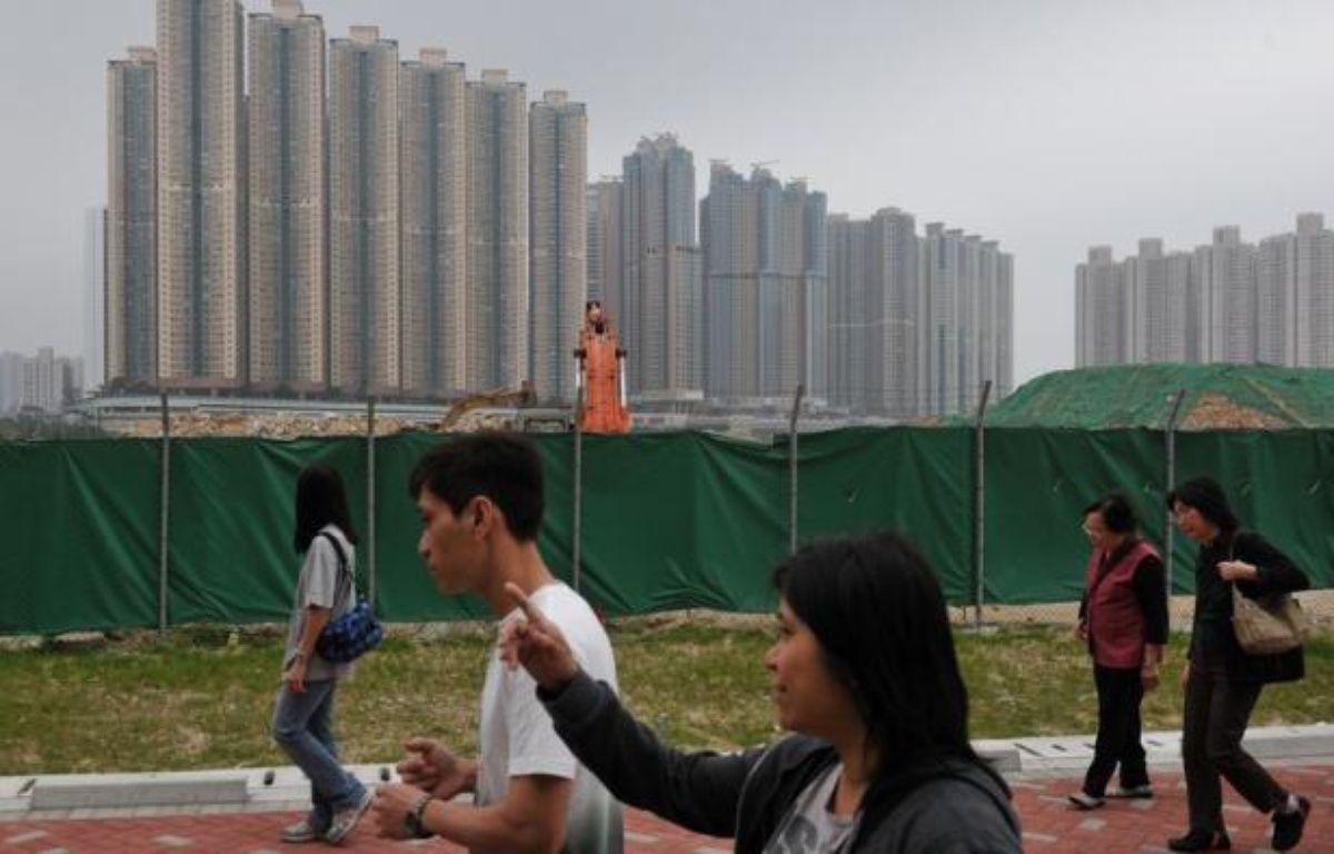 Les prix moyens de l'immobilier en Chine ont poursuivi en avril leur mouvement de baisse pour le septième mois consécutif, selon les chiffres rapportés vendredi par le gouvernement. – Aaron Tam afp.com