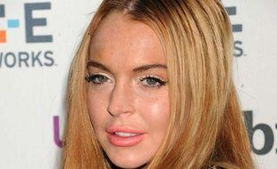 Lindsay Lohan à NewYork, le 9 mai 2012.