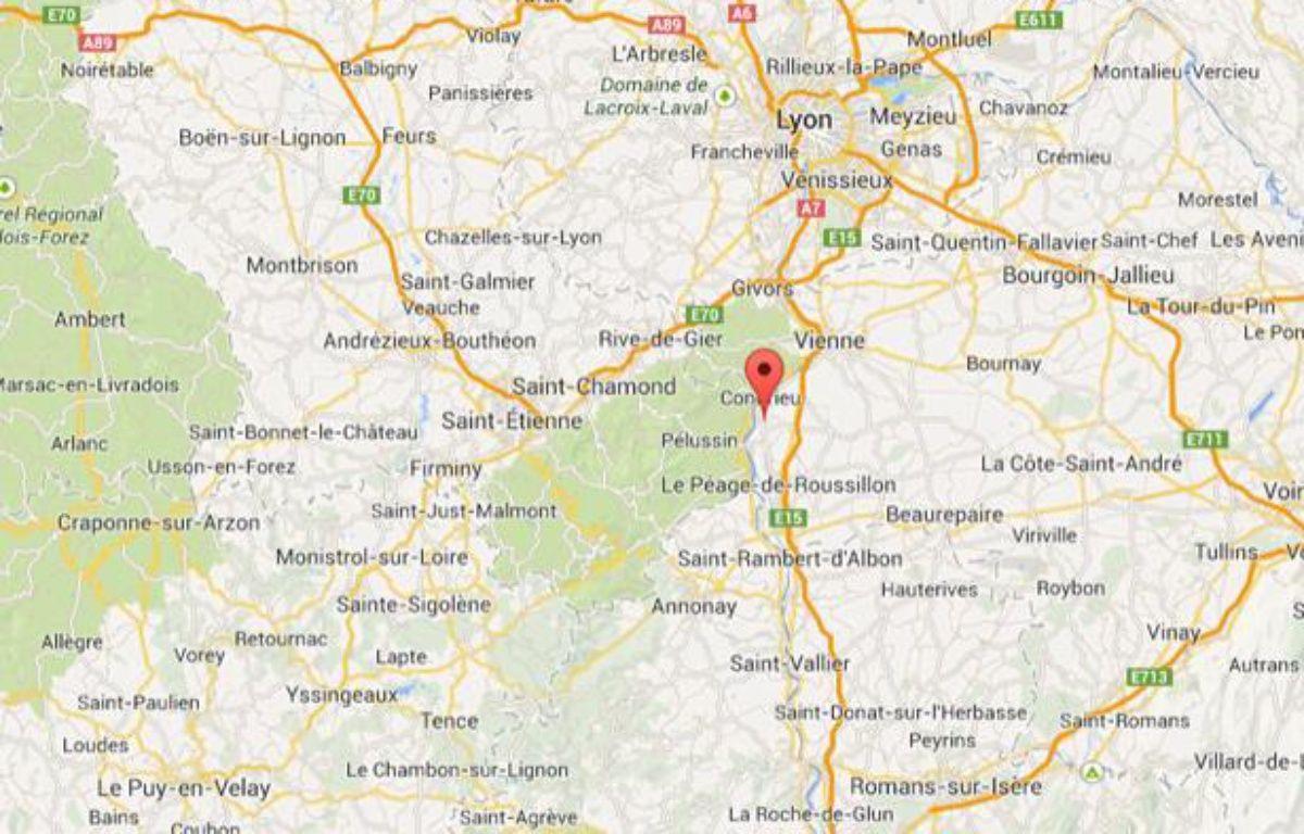 Saint-Clair-du-Rhône (Isère). – Capture d'écran / 20 Minutes