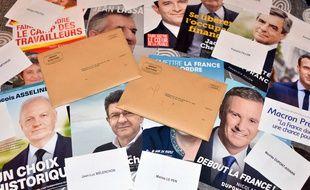 Illustration presidentielle 2017 : affiches et bulletins