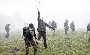 Les affrontements sur la ZAD se poursuivent, le 10 avril 2018.