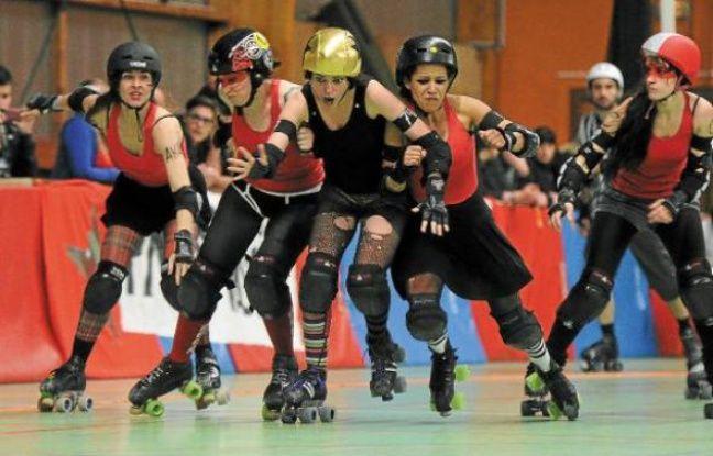 Samedi, les filles du Nantes Derby Girls affrontaient Paris, Strasbourg et Metz.