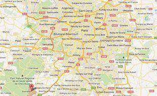 Bonnelles, la ville où habite le suspect, se trouve non loin de l'endroit où la joggeuse a été retrouvée