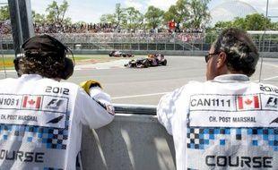 Sebastian Vettel (Red Bull) et Lewis Hamilton (McLaren) en première ligne, Fernando Alonso (Ferrari) juste derrière, le Grand Prix du Canada, dimanche sur le circuit Gilles-Villeneuve de Montréal, s'annonce comme un combat au sommet entre trois champions du monde de Formule 1.