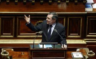 Le président LR de sa commission des Lois du Sénat, Philippe Bas, à Paris le 16 mars 2016