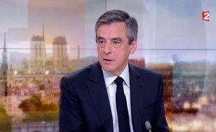 François Fillon sur France 2 le 5 mars 2017.