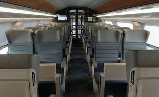 La rame TGV Océane