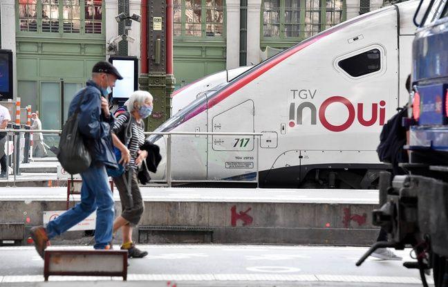 SNCF: Il faudra «environ deux ans» pour retrouver le trafic d'avant-crise