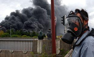 L'incendie de l'usine de Lubrizol suscite des inquiétudes.