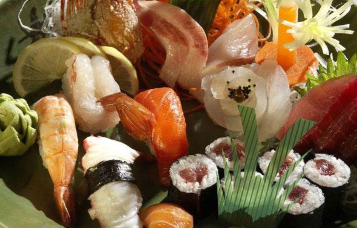 Un plateau de sushis, makis et sashimis.  – PureStock/SIPA