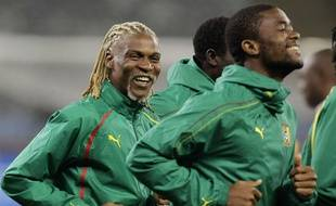 Rigobert Songa, le 23 juin 2010 avec la sélection camerounaise.