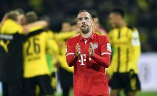 Franck Ribéry après le match entre le Borussia et le Bayern le 19 novembre 2016.