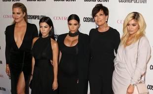 Khloe, Kourtney et Kim Kardashian, Kris et Kylie Jenner