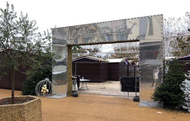 A Cannes, le village de Noël reste fermé ce dimanche