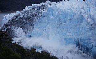 Le glacier Perito Moreno, en Argentine, le 10 mars 2018.